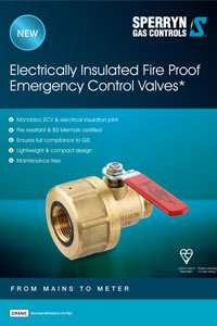 Electrically Insulated Fire Proof Emergency Control Valves